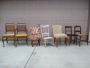 Solid Wood Accent Office Porch Rocking Chairs Sillas for Sale in Modesto, CA