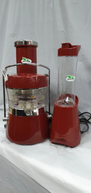 NEW Jack LaLanne's Fusion Juicer with Fusion Booster Blender for Sale in Largo, FL