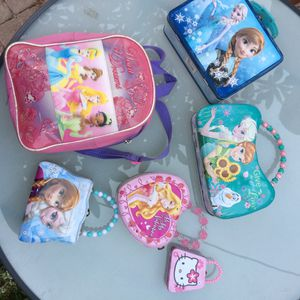 Princess purses, backpack, lunchbox for Sale in Long Beach, CA