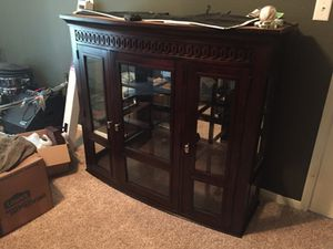 Dresser Top with light for Sale in Beach City, TX
