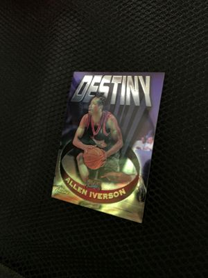 Allen Iverson card for Sale in Glendale, AZ