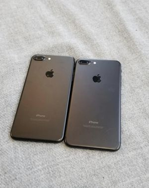 iPhone 7 Plus 256gb Unlocked Excellent Condition $329 each for Sale in Durham, NC