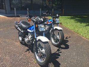 2 LIKE NEW 2017 Suzuki Van Van 200cc motorcycles for Sale in Hialeah, FL