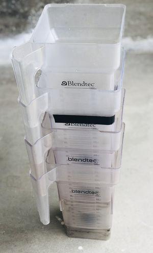 Blendtec Blender Jars - Set of 4 for Sale in Laguna Beach, CA