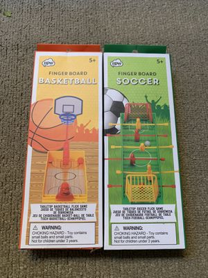 Finger board games ( NEW ) for Sale in Tualatin, OR