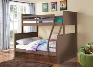 Columbus Day Special- [SPECIAL] Nora Sandwash Twin over Full Bunk Bed for Sale in Houston, TX