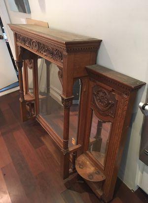 Antique mirror for Sale in Huntington Beach, CA