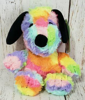 "Hallmark Snoopy Peanuts Rainbow Tie Dye Plush Dog Stuffed Toy 6"" NEW with Tags for Sale in Harrisonburg, VA"