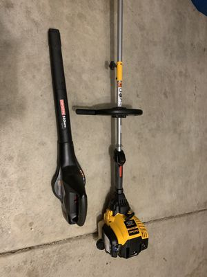 Cub Cadet 4 Cycle Trimmer and Craftsman 19.2 Volt Blower for Sale in Indianapolis, IN