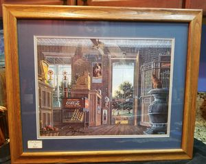 Country Store, Hand-Signed by Randy Souders 1984 for Sale in Port St. Lucie, FL
