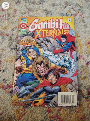 Gambit and the Xternals No 2 April 1995 for Sale in Walbridge, OH