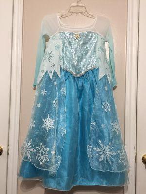 Elsa dress/vestido (size 9-10) for Sale in Houston, TX
