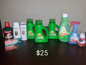 Gain Household/Personal Care Bundle $25 for Sale in Lake Mary, FL