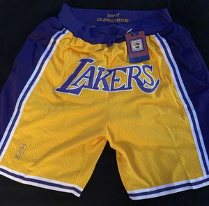 BRAND NEW JUST DON LOS ANGELES LAKERS NBA SHORTS for Sale in McLean, VA