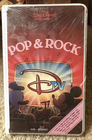 NEW DTV POP & Rock Disney VHS tape RARE for Sale in Wichita, KS