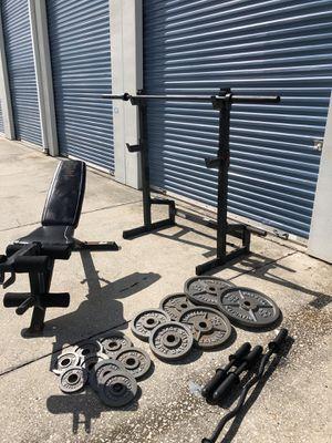 Iron grip weight set for Sale in Oviedo, FL