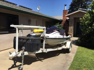 1999 Yamaha limited 1200(purple) 2000 Bombardier XP Sea Doo (yellow and black) for Sale in Shandon, CA