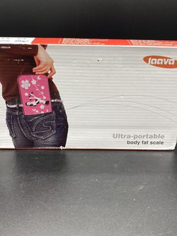Laava Digital Scale + BMI Calculator - Portable, Gym Ready - 330lb Max Weight for Sale in Peoria,  IL