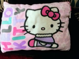 Hello kitty fluffy pillow for Sale in Bakersfield, CA