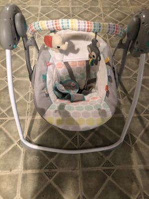 Baby swing for Sale in Melrose Park, IL