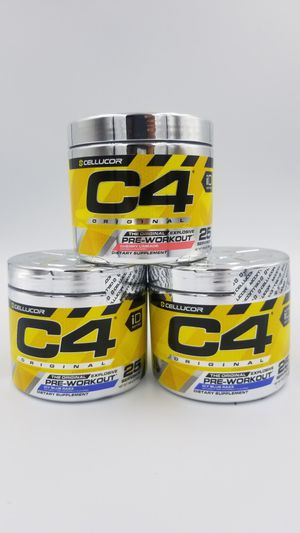 (3) Cellucor C4 Original iD Series Preworkout 25 Servings for Sale in Hazard, CA