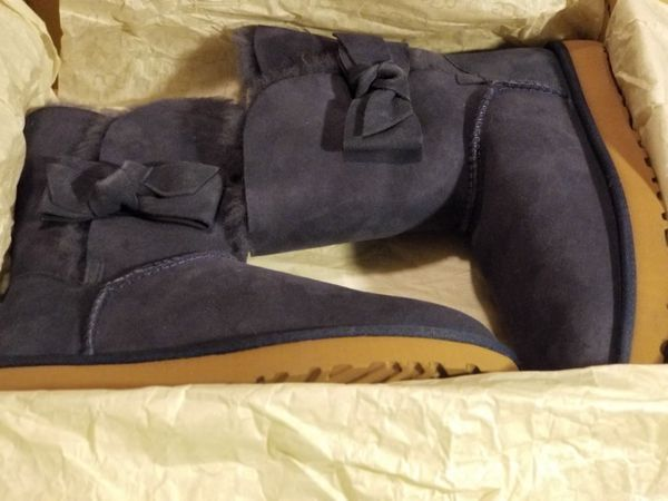 Brand new navy blue womens Ugg size 9 Brand new