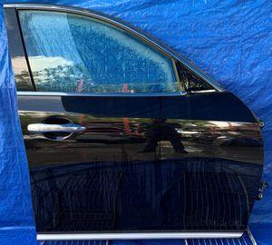 2009 - 2012 INFINITI FX35 FX50 FRONT RIGHT PASSENGER SIDE DOOR BLACK for Sale in Fort Lauderdale, FL