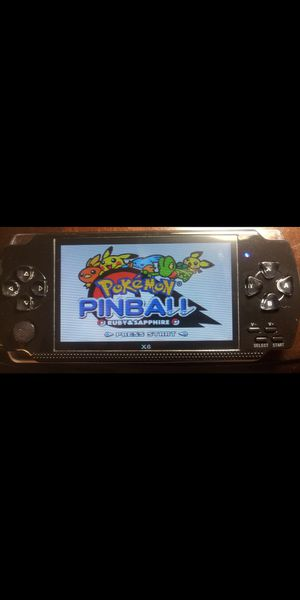 4.3 inch screen Handheld Portable Game Console POKEMON PINBALL! AND 10,000 Free Games, for Sale in Miami, FL
