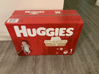 huggies size 1 for Sale in Raynham, MA