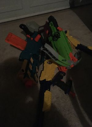 5 nerf guns for Sale in Norman, OK