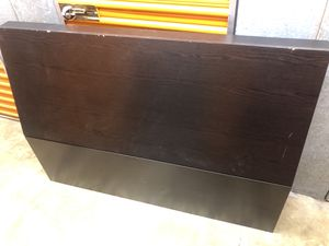 FREE Ikea headboard for queen/full size bed for Sale in Manassas, VA