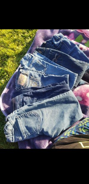 Girls jeans. Size 6 and 7 for Sale in Tacoma, WA