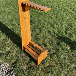 Wooden Fishing Rod Storage Rack for Sale in Enumclaw, WA