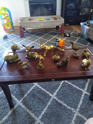 Solid yellow brass figures. for Sale in Oakley, CA