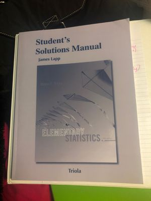 Elementary Statistics Math 1530 for Sale in Nashville, TN