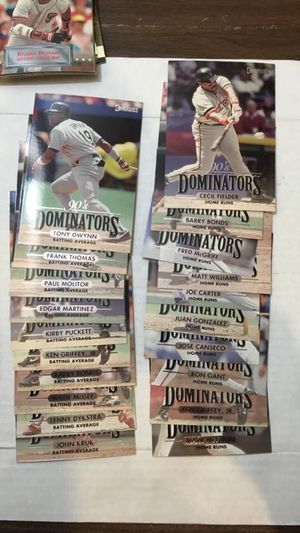 Donruss Jumbo Baseball Cards for Sale in Bothell, WA