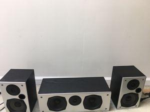 Polk audio speaker set total 3 for Sale in Malvern, PA