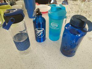 Water bottles, blender bottles, PSU, M&M for Sale in Baltimore, MD