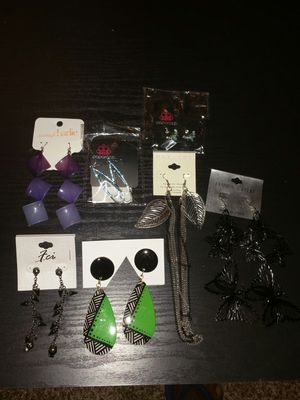 Mixed Jewelry - Earrings, Necklaces, Bracelet for Sale in Lithonia, GA