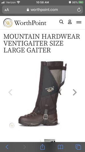 Mountain Hardwear Conduit ventigaiter gaiters hiking backpacking outdoors camping alpine for Sale in Glendora, CA