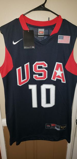 Men's Medium Kobe Bryant USA Basketball Jersey New with Tags Stiched Nike $45. Ships +$3. Pick up in West Covina for Sale in West Covina, CA