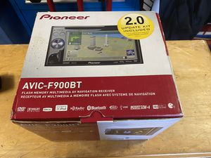 Pioneer AVIC-F900BT In-Dash Navigation AV Receiver with DVD Playback and Built-In Bluetooth for Sale in San Bruno, CA