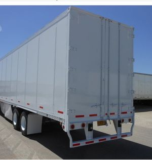 Two 53' Wabash Dry vans for sale by owner for Sale in Ontario, CA