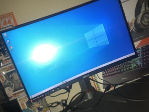 Gaming monitor for Sale in Houston, TX