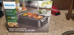Philips smoke-less indoor grill Avance collection for Sale in Bremerton, WA