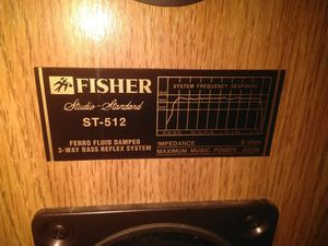 Fisher studio speakers for Sale in Knoxville, TN