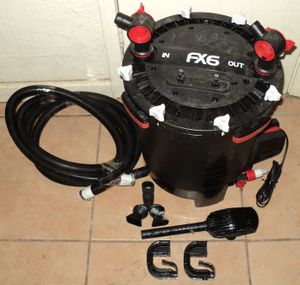 FLUVAL FX6 Fish Tank Canister Filter for Aquariums up to 400 Gallons for Sale in Modesto, CA