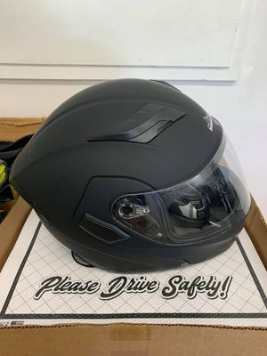 New Motorcycle Helmet, With Bluetooth for Sale in Auburn, ME