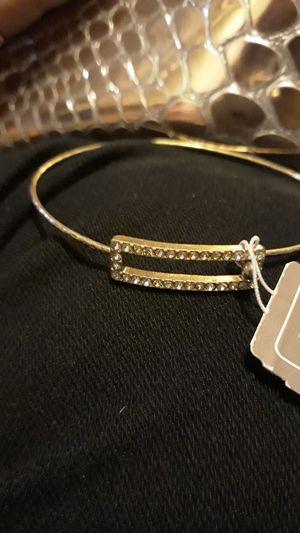 Silver rhinestones bracelet for Sale in Lynn, MA