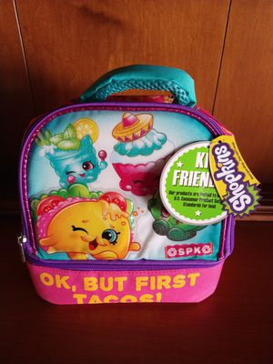 SHOPKINS LUNCH BOX. BRAND NEW for Sale in Mesa, AZ